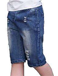 preiswerte -Kinder Jungen Grundlegend Solide Jeans