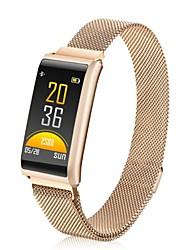 Недорогие -Умный браслет YY-R02 для Android 4.3 и выше / iOS 7 и выше Измерение кровяного давления / Израсходовано калорий / Сенсорный экран / Регистрация деятельности / Педометры / Напоминание о звонке