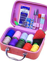 abordables -Cuero de PU Rectángulo Cool Casa Organización, 1pc Almacenamiento de Maquillaje