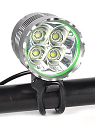 cheap -Front Bike Light / Headlight LED LED Cycling Professional, Anti-Shock, Easy Carrying Rechargeable Battery 8000 lm Natural White Camping / Hiking / Caving / Everyday Use / Diving / Boating