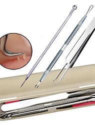 preiswerte -3 pcs Blemish Werkzeuge Make-up Utensilien Sets Reinigungs-Tools