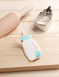 Недорогие -мультяшная молочная бутылка печенья прессформа из нержавеющей стали