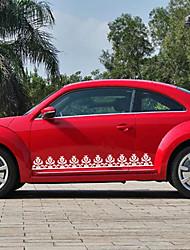 economico -Bianco Adesivi auto Cartone animato Adesivi per porte Animali Adesivi