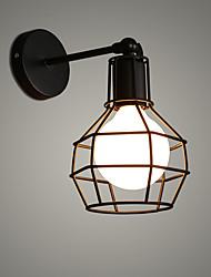 economico -Stile Mini Retrò / Tradizionale / Classico Lampade da parete Salotto / Camera da letto Metallo Luce a muro 110-120V / 220-240V 60 W