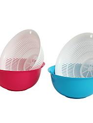 cheap -Kitchen Tools PP (Polypropylene) Tools / Creative Kitchen Gadget / Drain Tools / Fruit Basket Cooking Utensils / Kitchen 1pc