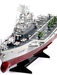 Недорогие -Лодка на радиоуправлении HT-2878A Пластик каналы 6 km/h КМ / Ч