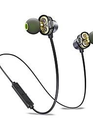 economico -AWEI X650BL Nell'orecchio Bluetooth4.1 Auricolari e cuffie Auricolari ABS + PC Sport e Fitness Auricolare Dotato di microfono / Con il controllo del volume cuffia