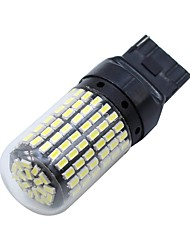 billiga -SO.K 2pcs T20 Bilar Glödlampor 8 W SMD 3014 1200 lm 144 LED Blinkers