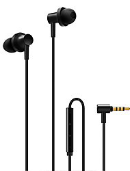 cheap -Xiaomi Xiaomi 2 In Ear Cable Headphones Earphone Copper Mobile Phone Earphone with Microphone Headset