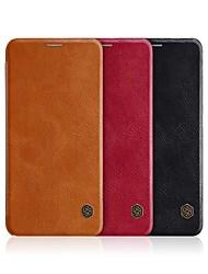 economico -Custodia Per Xiaomi Mi 8 Porta-carte di credito / Con chiusura magnetica / Auto sospendione / riattivazione Integrale Tinta unita Resistente pelle sintetica per Xiaomi Mi 8