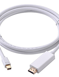 abordables -1 Mini Displayport HDMI 2.0 Male - Male 1080P 1.8m (6Ft)