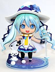 economico -Figure Anime Azione Ispirato da Vocaloid Hatsune Miku PVC 10 cm CM Giocattoli di modello Bambola giocattolo