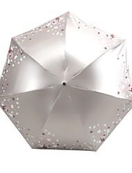 Недорогие -Полиэстер / Нержавеющая сталь Жен. / Все Новый дизайн / Творчество Складные зонты