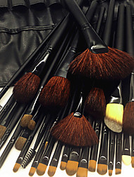cheap -32pcs Makeup Brushes Professional Makeup Brush Set Wool / Goat Hair Brush / Nylon Brush Eco-friendly / Professional / Soft Wooden / Bamboo