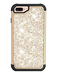 Недорогие -Кейс для Назначение Apple iPhone X / iPhone 8 Защита от удара / Сияние и блеск Чехол Сияние и блеск Твердый ПК для iPhone X / iPhone 8 Pluss / iPhone 8