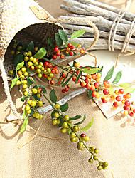 Недорогие -Искусственные Цветы 1 Филиал Классический европейский / Пастораль Стиль Фрукты Букеты на стол