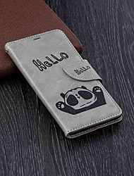 cheap -Case For Nokia Nokia 5.1 / Nokia 3.1 Wallet / Card Holder / with Stand Full Body Cases Panda Hard PU Leather for Nokia 5.1 / Nokia 3.1 / Nokia 2.1