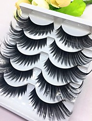 cheap -lash False Eyelashes Portable / Pro Makeup 1 pcs Eye Trendy / High Quality Event / Party / Daily Wear Daily Makeup / Halloween Makeup / Party Makeup Natural Curly Beauty Cosmetic Grooming Supplies