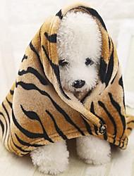 Недорогие -Компактность / Мини / Мягкий Одежда для собак Кровати / Полотенца Животное / Мода / Лолита полоса Грызуны / Собаки / Коты