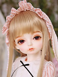 cheap -OuenElfs Ball-joined Doll / BJD / Blythe Doll Baby Girl 16 inch Full Body Silicone - High-Temperature Resistant Fibre Wigs Kid's Unisex Gift