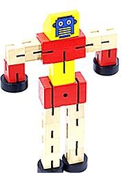 Недорогие -Взаимосоединяющиеся блоки Грузовик трансформируемый С мультяшными героями Мультяшная тематика 1 pcs Куски Детские / Для подростков Подарок