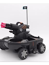 baratos -24883B Tanque 1:48 Carro com CR 8 km/h Infravermelho Alguma montagem necessária Controle Remoto / 1 Estação de Carregamento Luminoso / Especialmente projetado para o carregador / Simulação