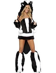 economico -Pirati dei Caraibi / Costumi da pirata Costumi Cosplay / Accessori per capelli / Costume Halloween / Carnevale Feste / vacanze Costumi Halloween Nero Collage Animal / Halloween