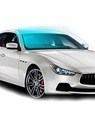 economico -Blu / Azzurro chiaro / Trasparente Adesivi auto Lavoro Pellicola parabrezza anteriore (Trasmittanza> = 70%) Car Film