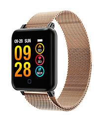 Недорогие -smartwatch m19 женщины мужчины сердечный ритм кровяное давление bluetooth водонепроницаемый спортивный умный браслет для android ios