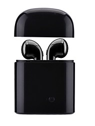 cheap -Factory OEM lx-i7sws Earbud Bluetooth 4.2 Headphones Earphone ABS+PC Mobile Phone Earphone with Microphone / With Charging Box Headset