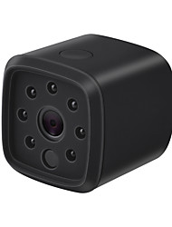 Недорогие -HQCAM 720P WIFI Wireless Mini IP Camera Night Vision Motion Detect Mini Camcorder Loop Video Recorder Built-in Battery Body Cam 1 mp IP Camera Крытый Support0 GB