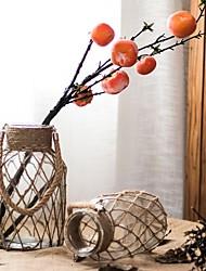Недорогие -Искусственные Цветы 0 Филиал Классический Деревня / Пастораль Стиль Ваза Букеты на стол