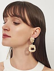abordables -Mujer Largo Pendientes colgantes - Geométrico, Moda, Elegante Dorado / Plata Para Fiesta de Noche / Cumpleaños