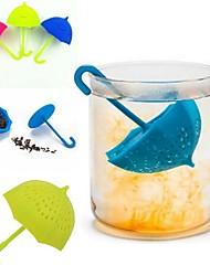 Недорогие -зонтик чай инфузионный силиконовый чай sttrainer сыпучий фильтр фильтра фильтра