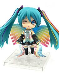 billiga -Anime Actionfigurer Inspirerad av Vocaloid Hatsune Miku pvc 10 cm CM Modell Leksaker Dockleksak