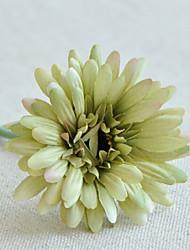abordables -Fleurs artificielles 16.0 Une succursale Classique Style Simple Chrysanthème Arbre de Noël