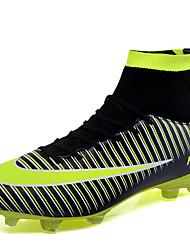 Недорогие -Муж. Искусственная кожа / Полиуретан Осень Удобная обувь Спортивная обувь Voetbal Желтый / Зеленый / Синий