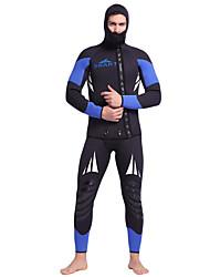 baratos -SBART Homens Macacão de Mergulho Longo 5mm Roupas de Mergulho Secagem Rápida, Design Anatômico, Respirável Corpo Inteiro Mergulho Clássico / Moderno Primavera / Outono / Inverno / Com Stretch