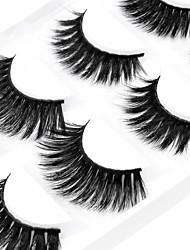 baratos -Cílios Cílios Postiços Multi-Função / Pró Maquiagem 1 pcs Olhos Profissional / Fashion Roupa Diária Maquiagem para o Dia A Dia / Maquiagem para Dias das Bruxas / Maquiagem de Festa Natural