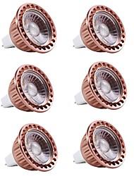 billiga -6pcs 5 W 400 lm MR16 LED-spotlights 1 LED-pärlor COB Dekorativ Varmvit / Kallvit 12 V