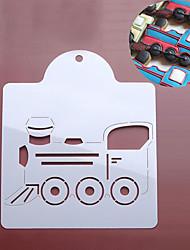 Недорогие -Инструменты для выпечки пластик Своими руками Печенье / Для торта / конфеты Stamper & Scraper 1шт