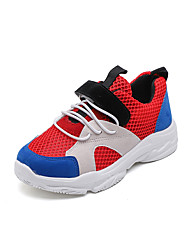 cheap -Boys' / Girls' Shoes PVC(Polyvinyl chloride) Spring & Summer / Fall & Winter Comfort Athletic Shoes Running Shoes / Walking Shoes Magic Tape for Kids / Baby Black / Red / Pink / Booties / Ankle Boots