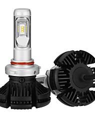 Недорогие -2pcs 9005 Лампы 25 W Интегрированный LED 2500 lm 6 Светодиодная лампа Налобный фонарь 2018
