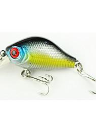 Недорогие -1 pcs штук Жесткая наживка / Рыболовная приманка / Набор для рыбалки Жесткая наживка Металл / ПП (полипропилен) Легко для того чтобы снести / Ультралегкий (UL)
