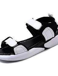 povoljno -Žene Cipele PU Ljeto Udobne cipele Sandale Ravna potpetica Okrugli Toe Obala / Pink