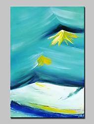 abordables -mintura® peint à la main, paysage de montagne abstrait et abstrait, peinture à l'huile sur toile murale, tableau d'art décoratif, prêt à accrocher