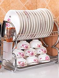 Недорогие -Кухонная организация Полки и держатели Нержавеющая сталь Прост в применении 1шт