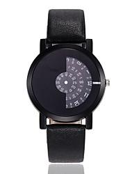 Недорогие -Муж. Жен. Нарядные часы Наручные часы Кварцевый Черный / Белый / Синий Новый дизайн Повседневные часы Аналоговый Классика На каждый день Мода - Красный Синий Черный / Белый / Один год