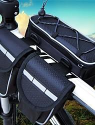 baratos -10 L Bolsa para Quadro de Bicicleta Prova-de-Água, Multi Camadas, Vestível Bolsa de Bicicleta Náilon Bolsa de Bicicleta Bolsa de Ciclismo Ciclismo Moto