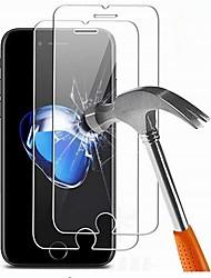 Недорогие -AppleScreen ProtectoriPhone 8 Pluss HD Защитная пленка для экрана 2 штs Закаленное стекло
